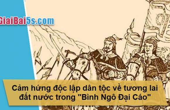 Đề 38 – Cảm hứng độc lập dân tộc về tương lai đất nước trong Bình Ngô đại cáo