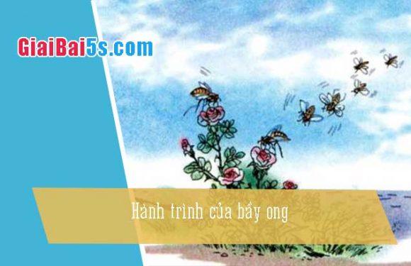 Phần thứ tư: Cảm thụ văn thơ-Bài số 8. Hành trình của bầy ong